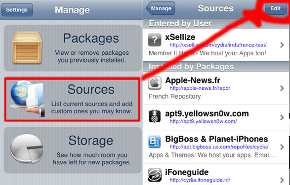 how to install AppSync for iOS 7 step 1