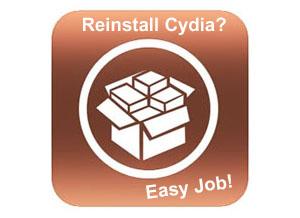 reinstall Cydia