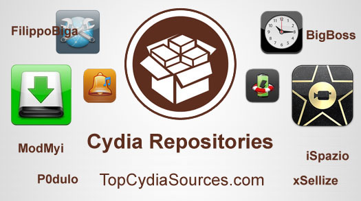 Cydia repositories list
