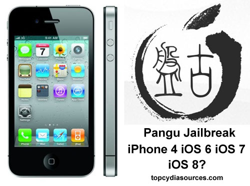 Pangu jailbreak iPhone 4 Cydia