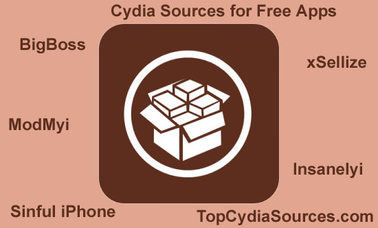 Cydia sources for free apps