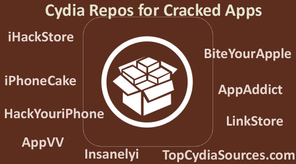 Cydia repos for cracked apps