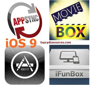 AppSync AppAddict MovieBox iFunBox iOS 9