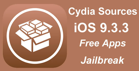 Cydia sources iOS 9.3.3 jailbreak repo